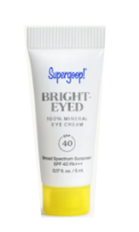 SUPERGOOP BRIGHT-EYED EYE CREAM SPF 40
