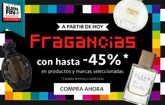 45% Fragancias