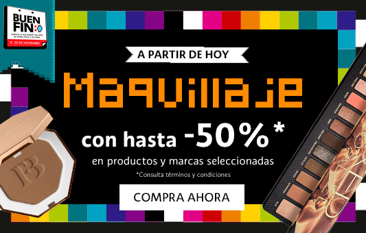 50% Maquillaje