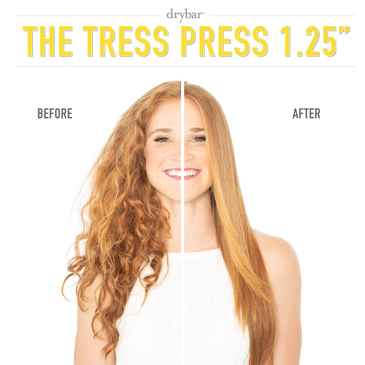 "THE TRESS PRESS STRAIGHTENING IRON 1.25"" (PLANCHA PARA EL CABELLO DE 2.54 CM)"