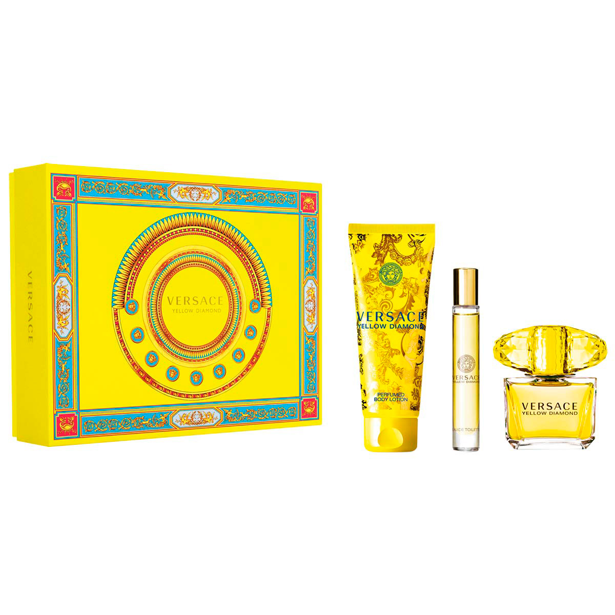 SET VERSACE YELLOW DIAMOND