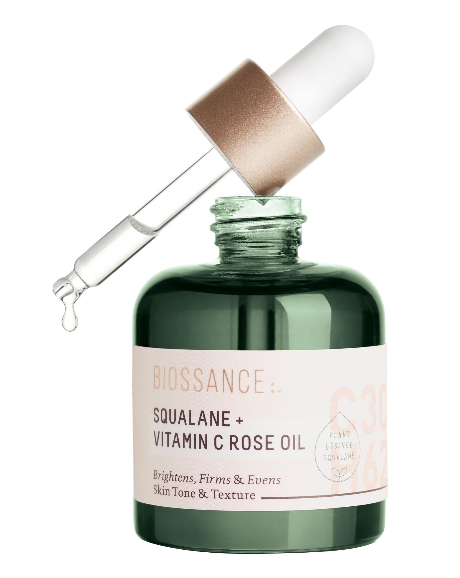 SQUALANE + VITAMIN C ROSE OIL 30ML (ESCUALANO + VITAMINA C Y ACEITE DE ROSAS)