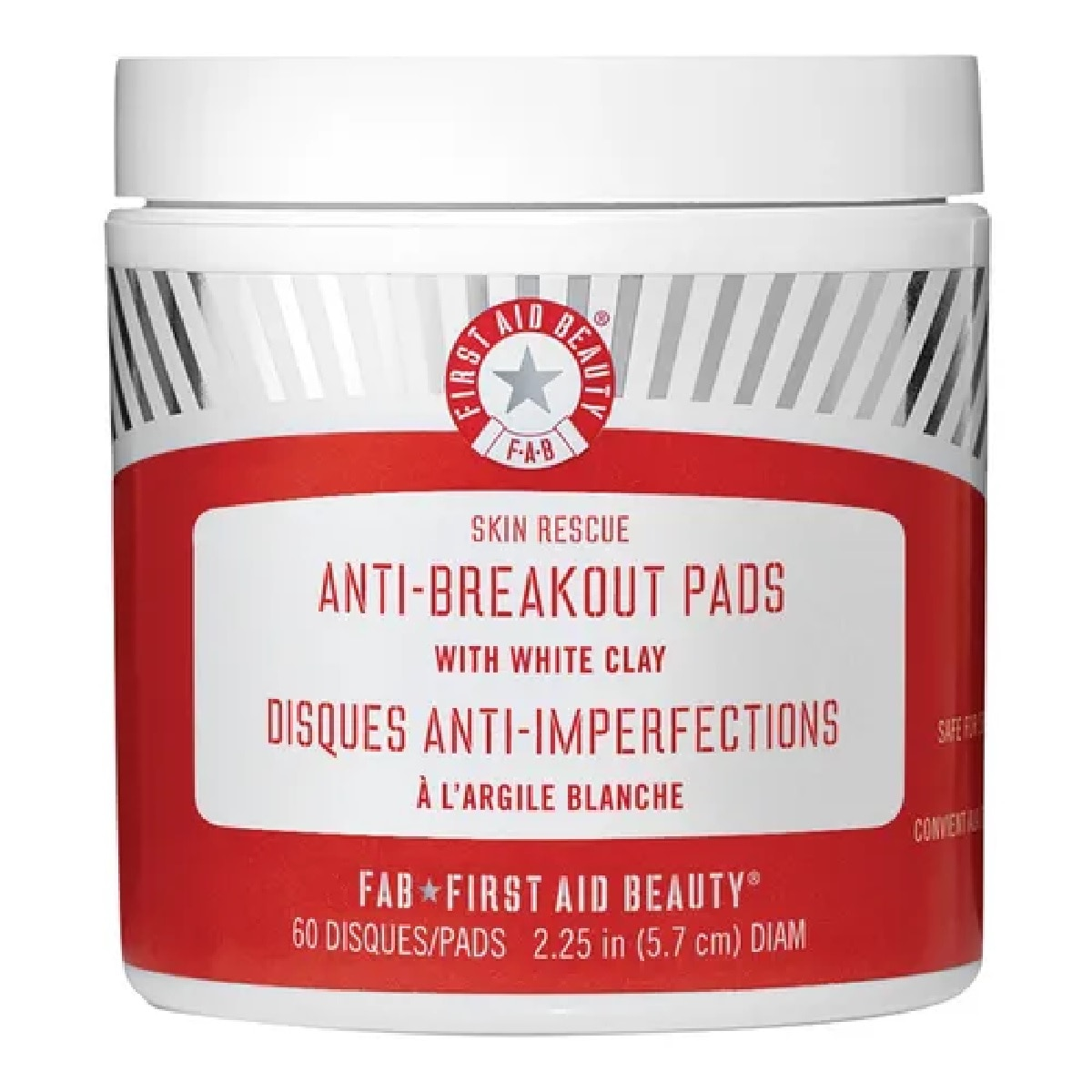 SKIN RESCUE ANTI-BREAKOUT PADS WITH WHITE CLAY
