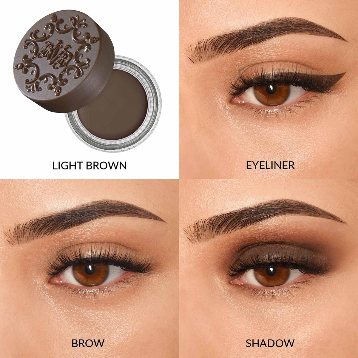 SUPER POMADE VEGAN EYELINER, SHADOW & BROW PIGMENT