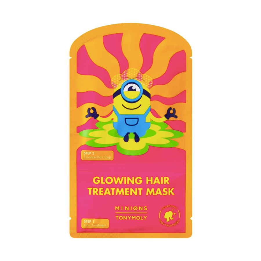MINIONS GLOWING HAIR TREATMENT MASK (MASCARILLA PARA EL CABELLO)