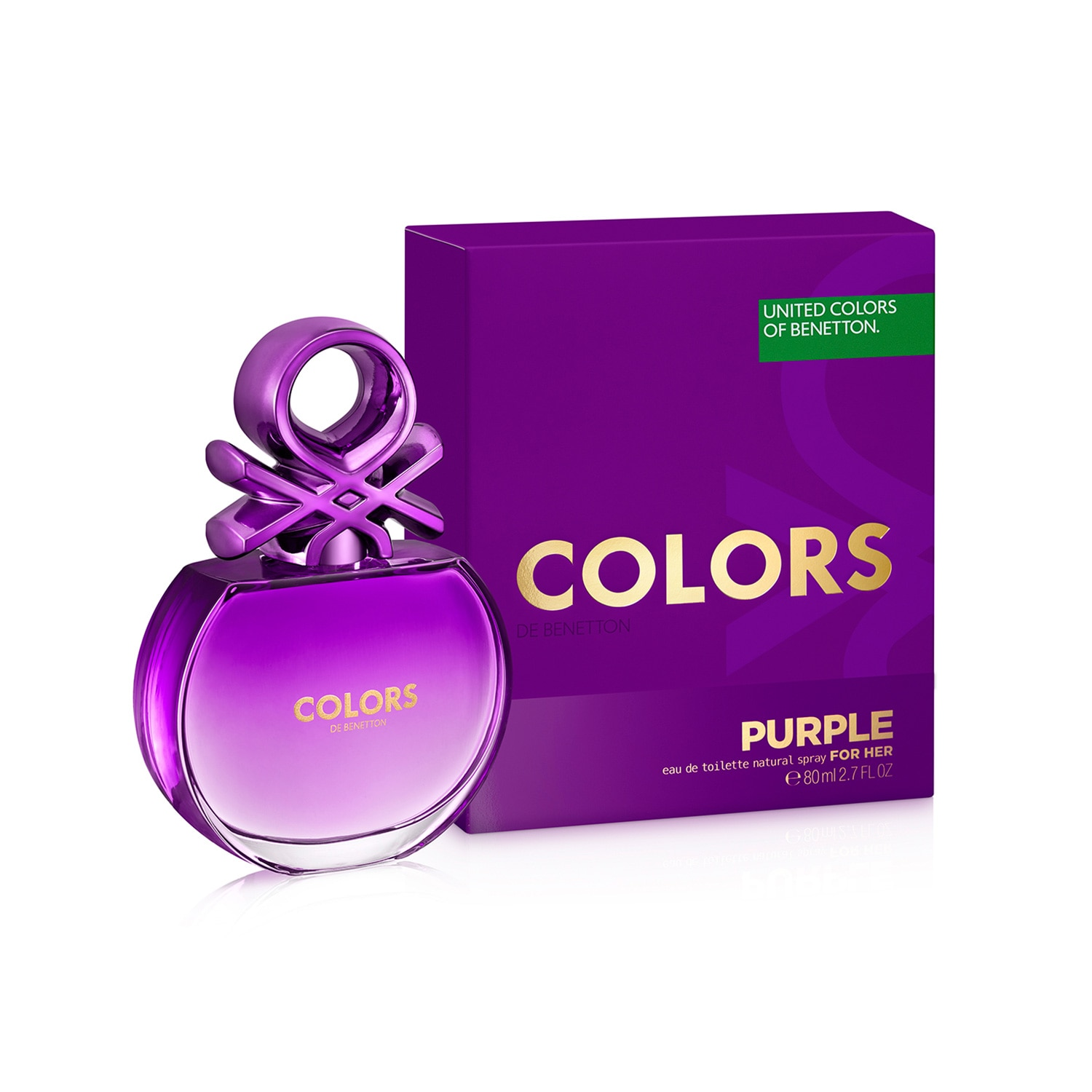 COLORS PURPLE EAU DE TOILETTE 80 ML