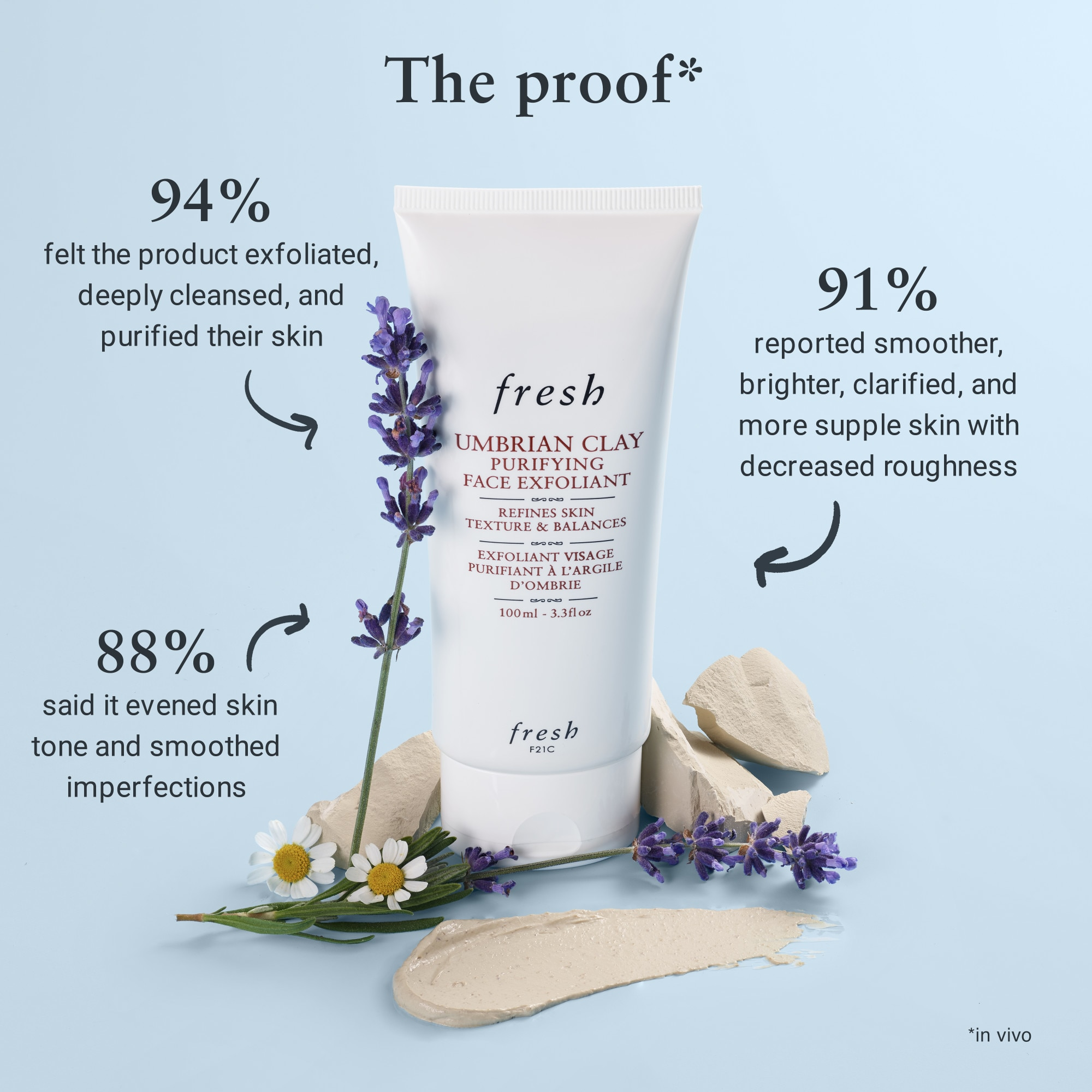 UMBRIAN CLAY PURIFYING FACE EXFOLIANT