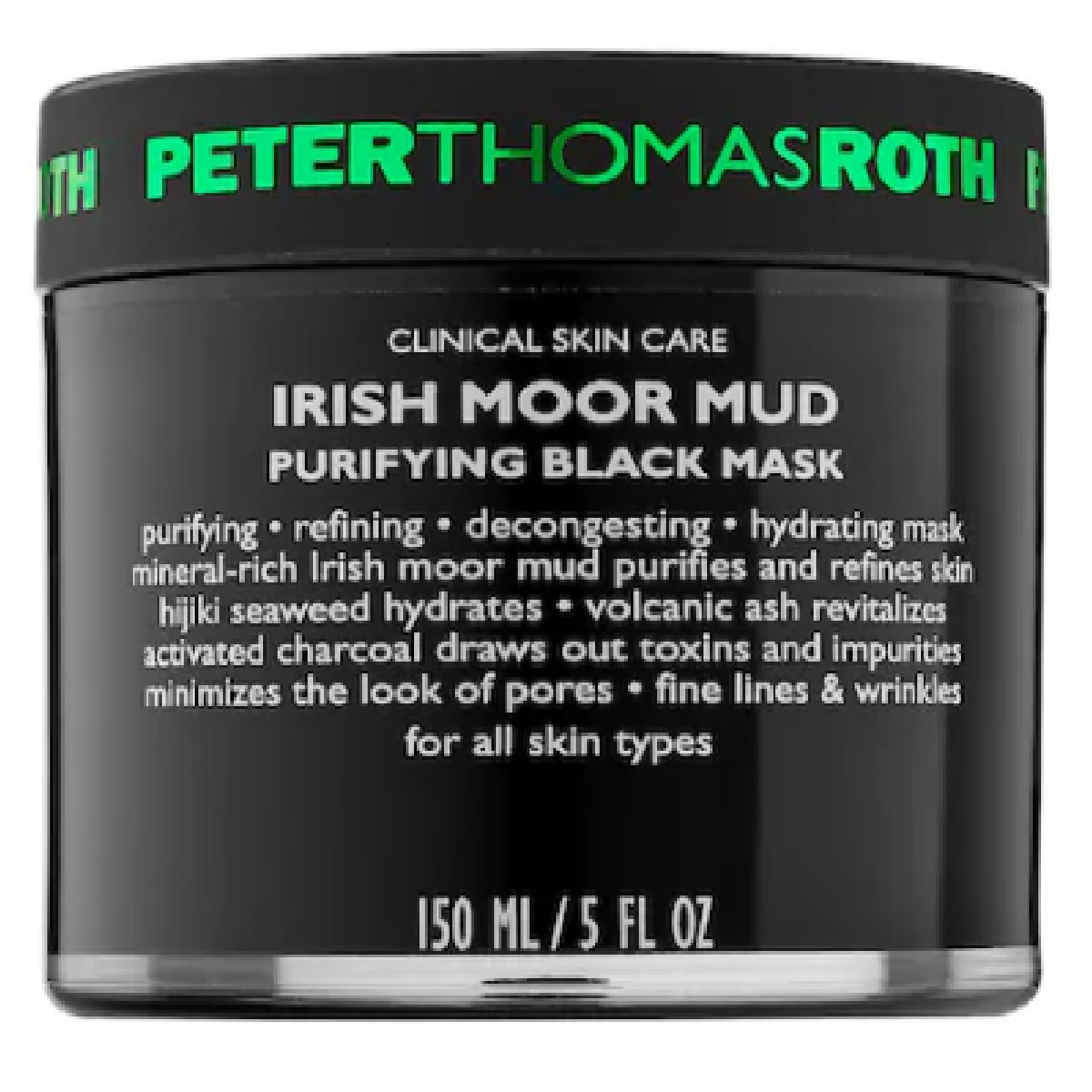 IRISH MOOR MUD PURIFYING BLACK MASK (MASCARILLA)