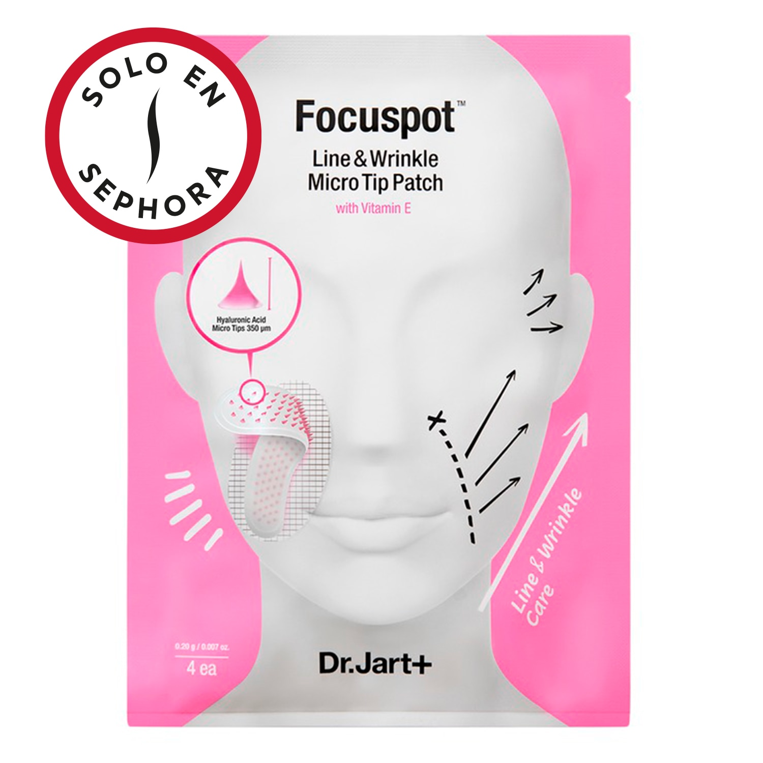 FOCUSPOT™ LINE AND WRINKLE MICRO TIP PATCH CON VITAMIN E
