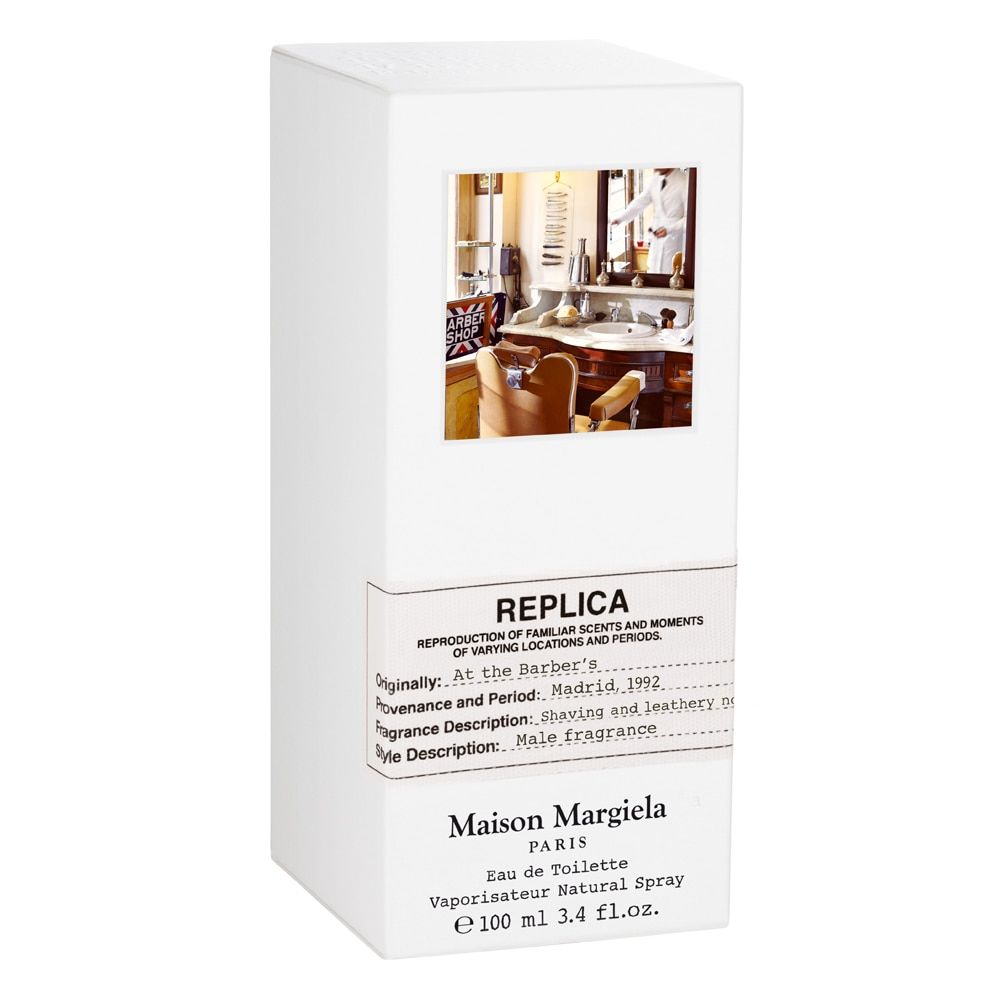 REPLICA AT THE  BARBERS EAU DE TOILETTE 100ML