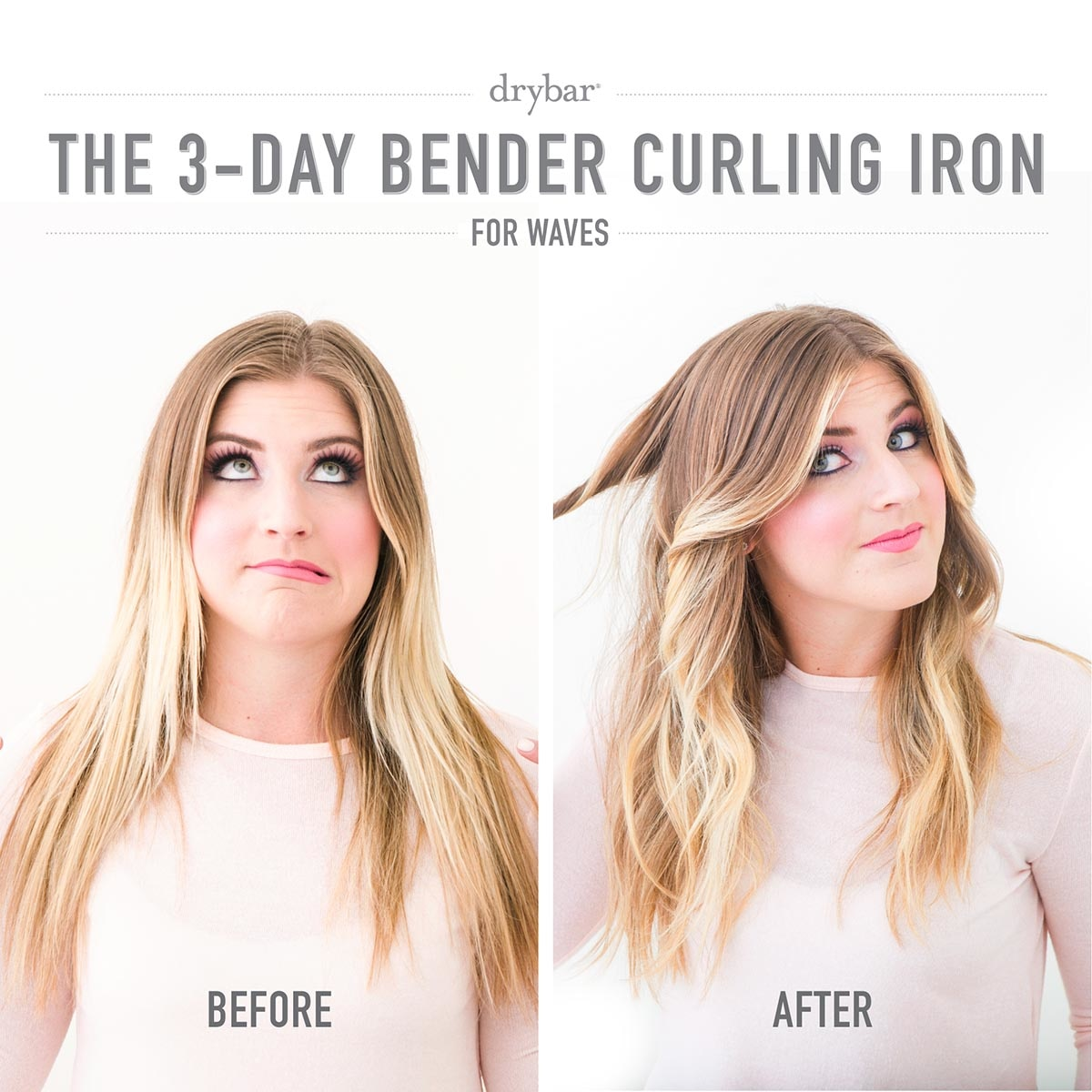 "THE 3-DAY BENDER 1"" DIGITAL CURLING IRON (TENAZA PARA EL CABELLO)"