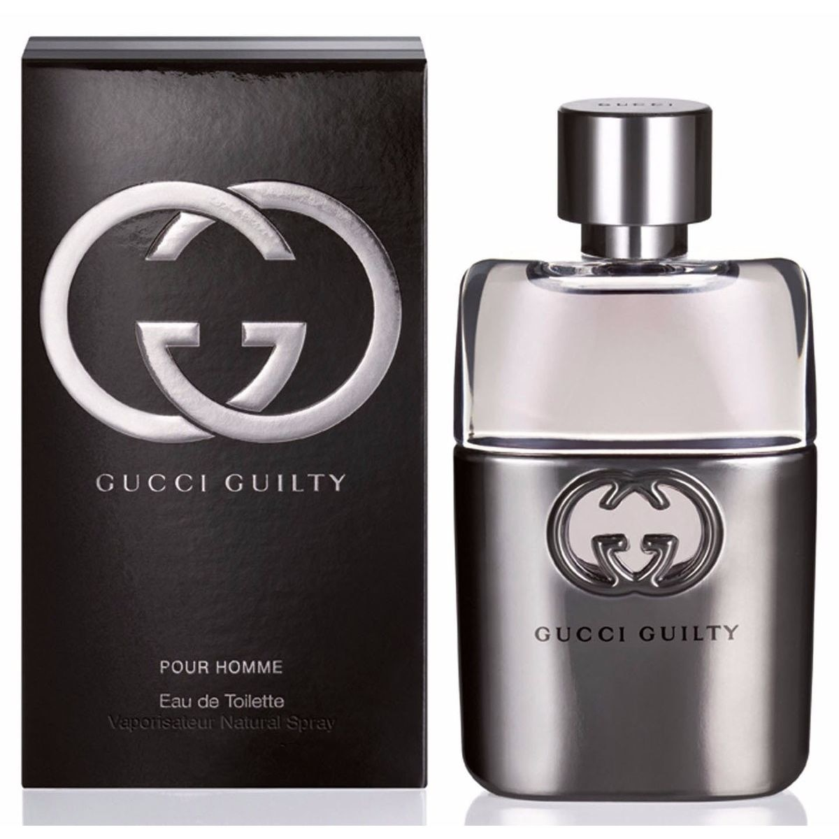 GUILTY POR HOMME EAU DE TOILETTE 90ML