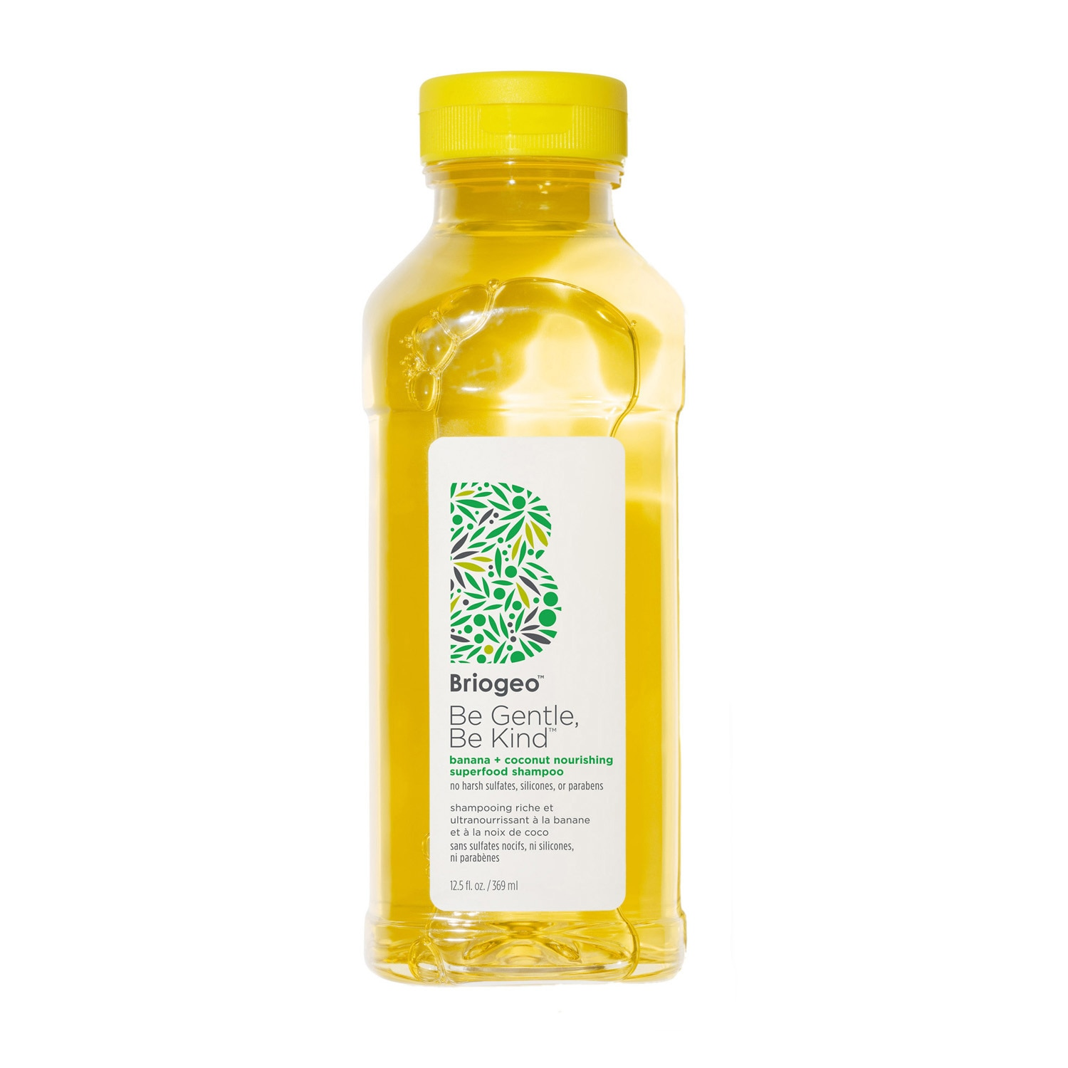 BE GENTLE BE KIND™ BANANA + COCONUT NOURISHING SUPERFOOD SHAMPOO 12.5OZ