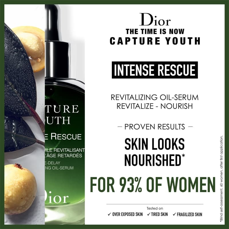 CAPTURE YOUTH INTENSE RESCUE AGE-DELAY REVITALIZING OIL-SERUM 30ML