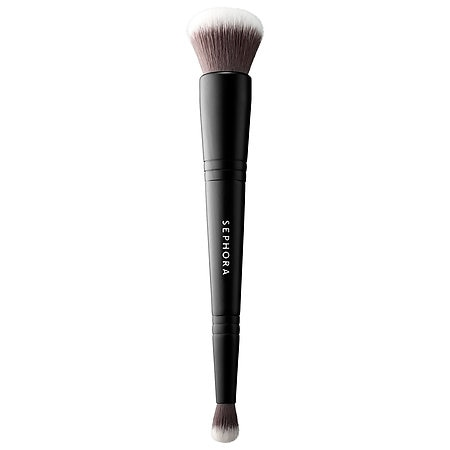 CLASSIC DOUBLE ENDED BRUSH - MULTITASK FACE & CONCEALER BRUSH #202 (BROCHA PARA POLVOS Y CORRECTOR)