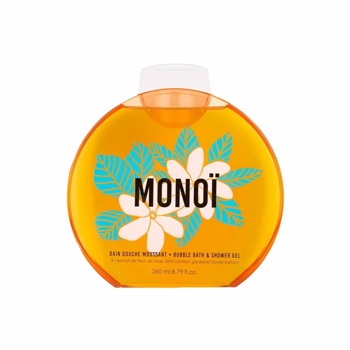 BUBBLE BATH & SHOWER GEL MONOI  260ML