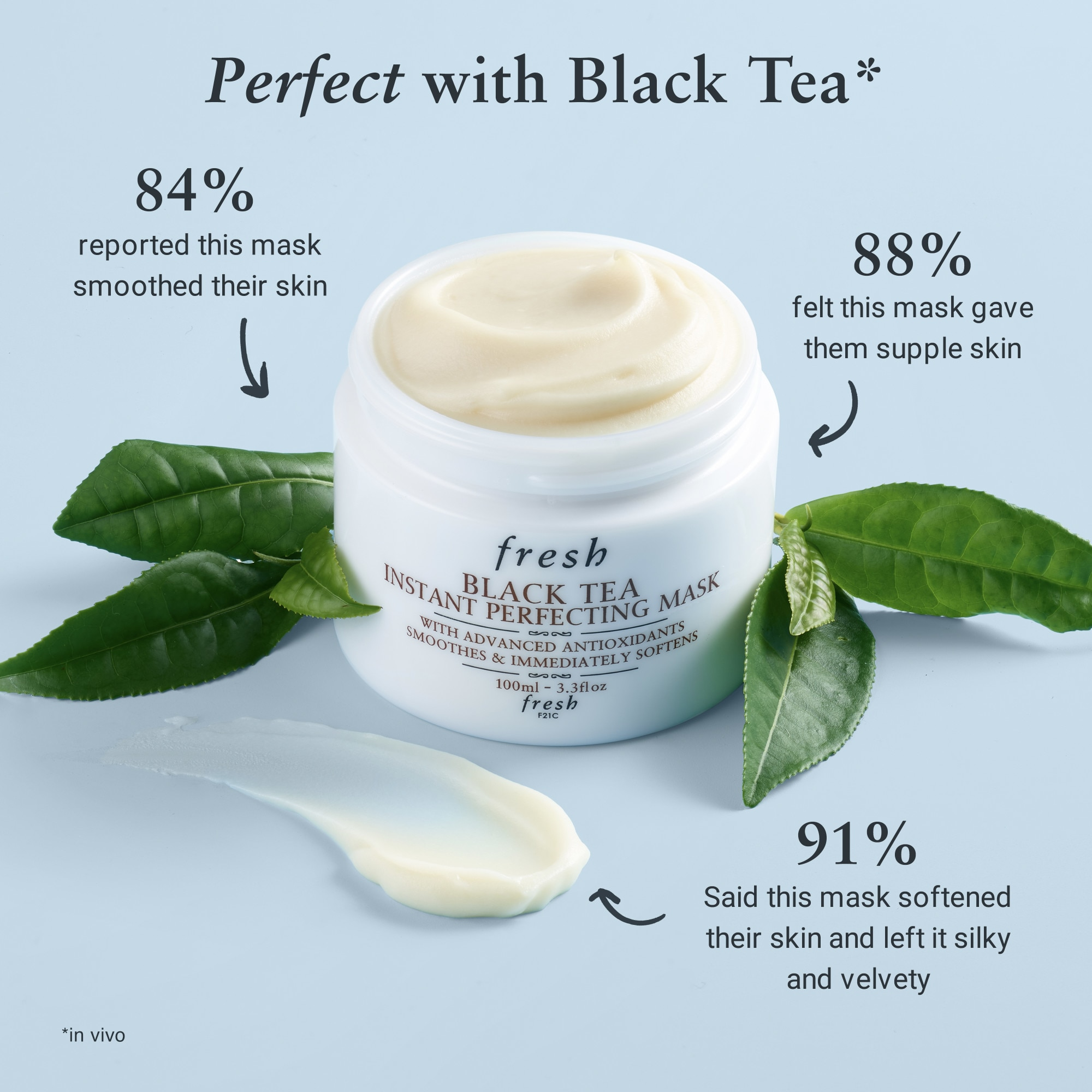 BLACK TEA INSTANT PERFECTING MASK 100ML