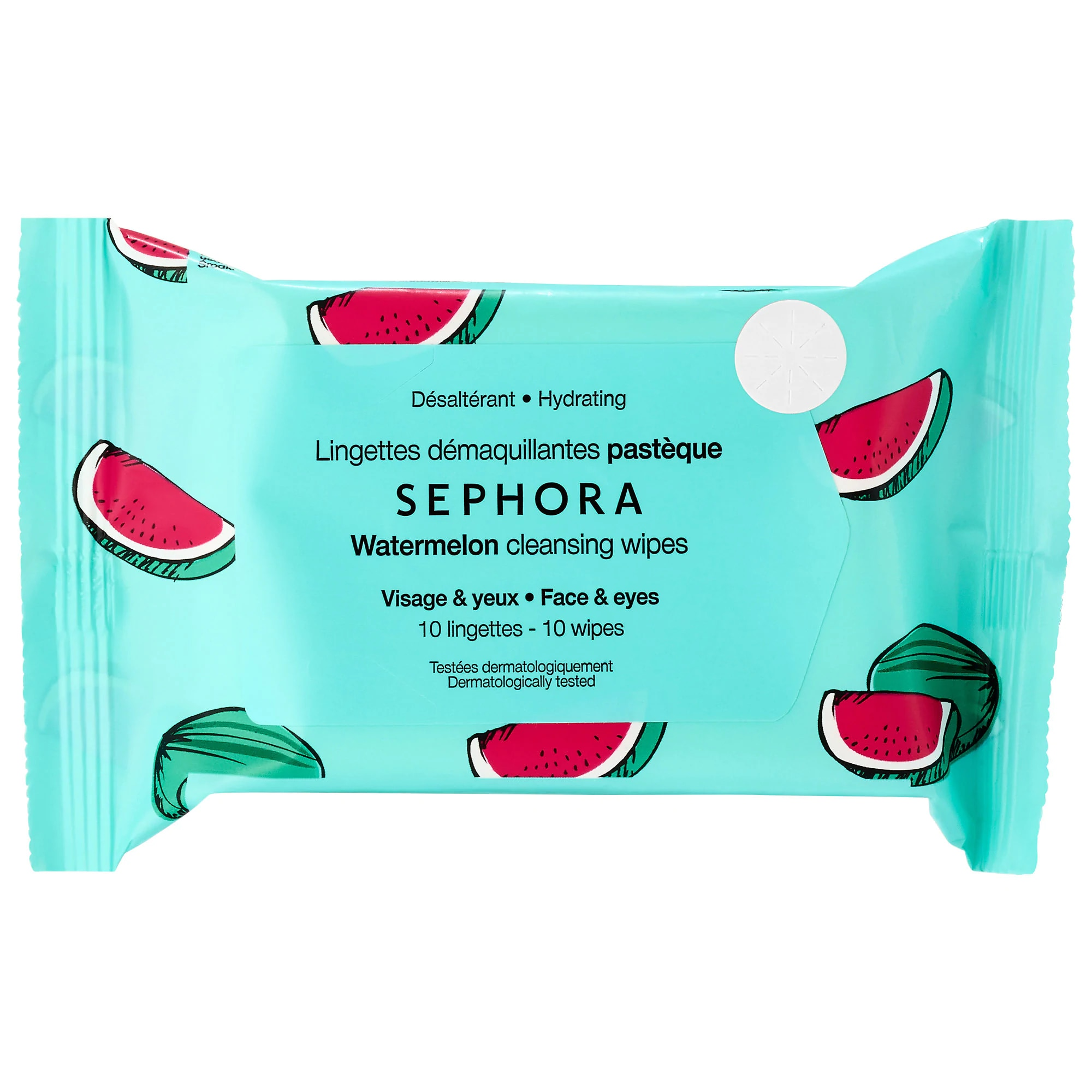 CLEANSING & EXFOLIATING WIPES TRAVEL SIZE (10 TOALLAS FACIALES)