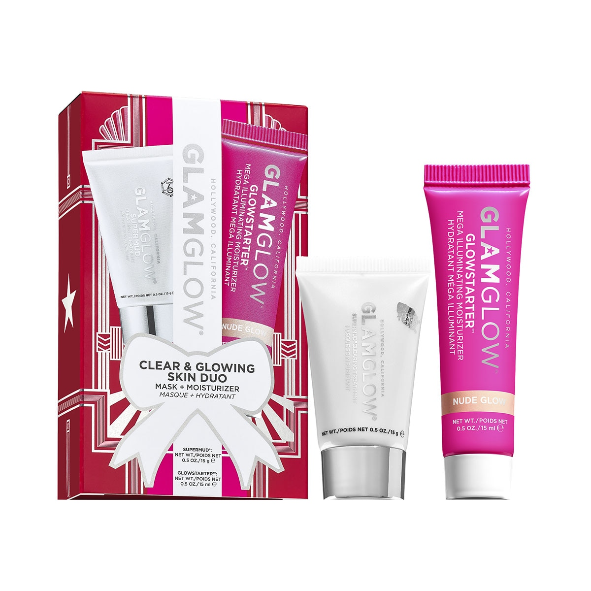 CLEAR & GLOWING SKIN DUO (DUO DE MASCARILLAS) DUO SET