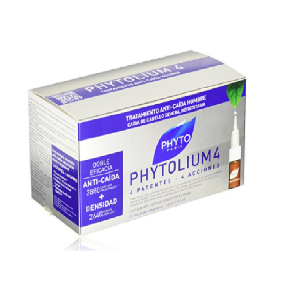 PHYTO PHYTOLIUM 4 ANTI-FALL TREATMENT MAN 12 VIALS
