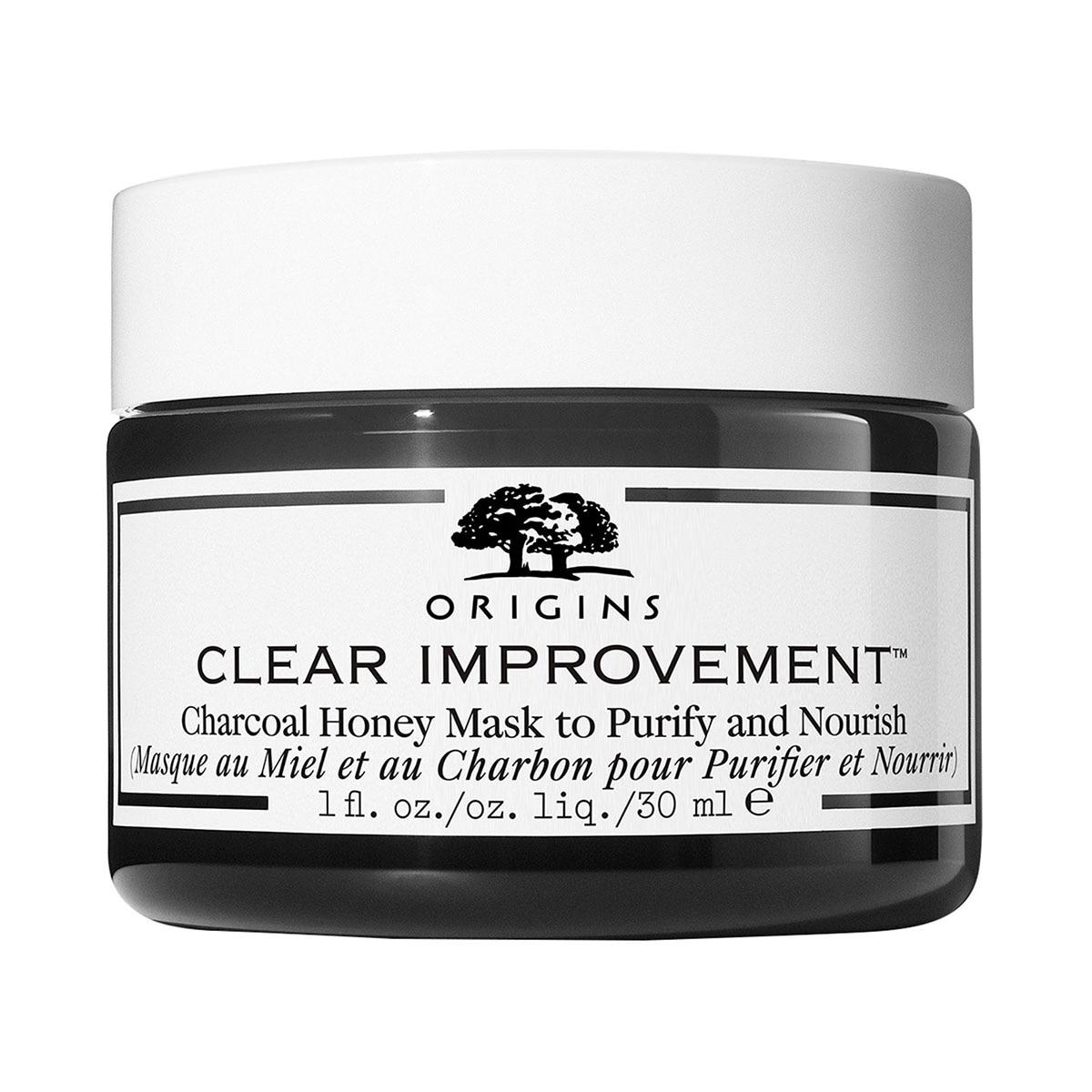 CLEAR IMPROVEMENT™ CHARCOAL HONEY MASK 30ML