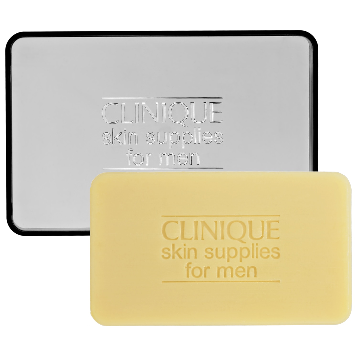 FACE SOAP WITH DISH FOR MEN