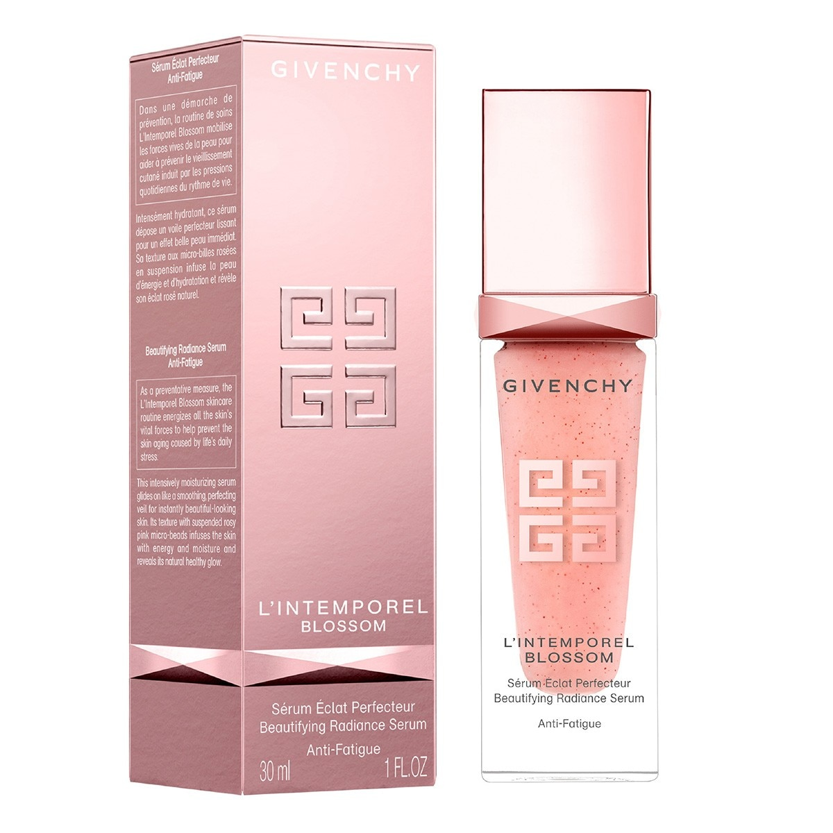 L'INTEMPOREL BLOSSOM BEAUTIFING RADIANCE SERUM (SUERO INTENSIVO EMBELLECEDOR  HUMECTANTE ANTI FATIGA 30 ML)