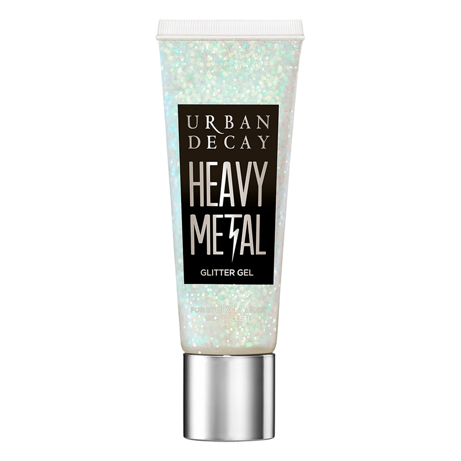 HEAVY METAL FACE & BODY GLITTER GEL - SPARKLE OUT LOUD COLLECTION (BRILLO CORPORAL EN GEL)