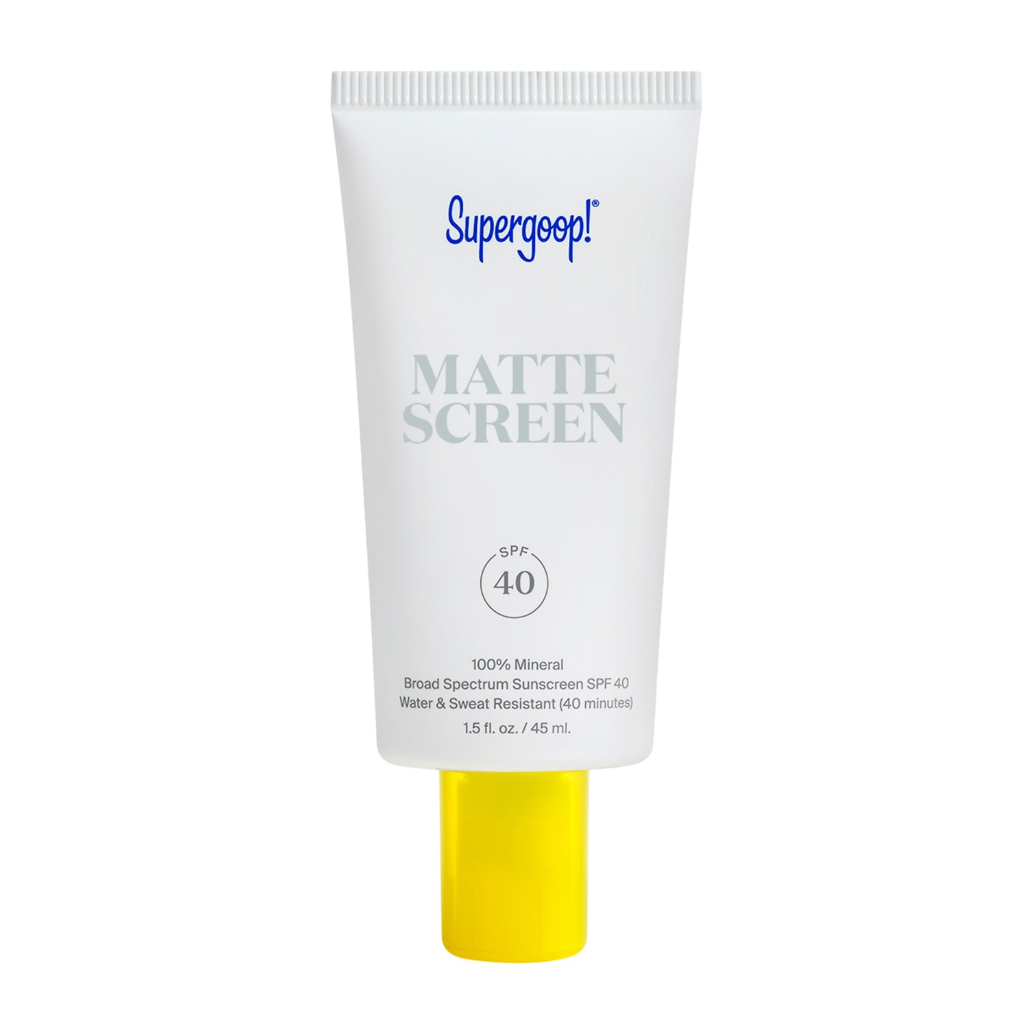 100% MINERAL SMOOTH & PORELESS MATTE SCREEN SPF 40