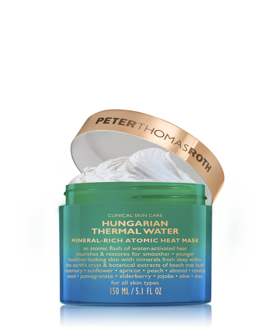 HUNGARIAN THERMAL WATER MINERAL-RICH ATOMIC HEAT MASK