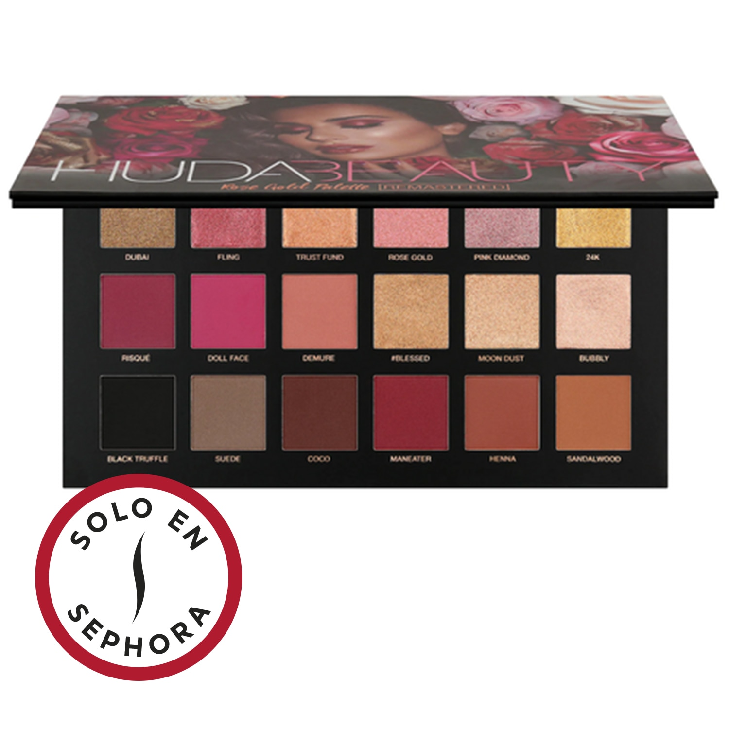 ROSE GOLD REMASTERED EYESHADOW PALETTE (PALETA DE SOMBRA DE OJOS)