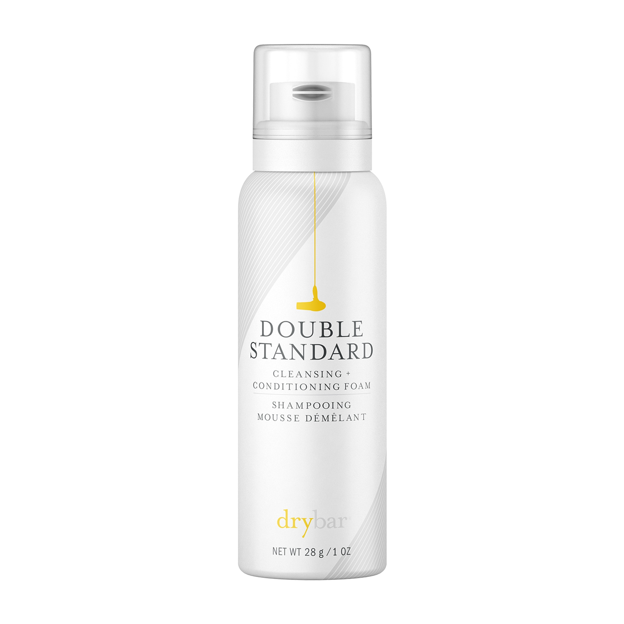 DOUBLE STANDARD CLEANSING + CONDITIONING FOAM