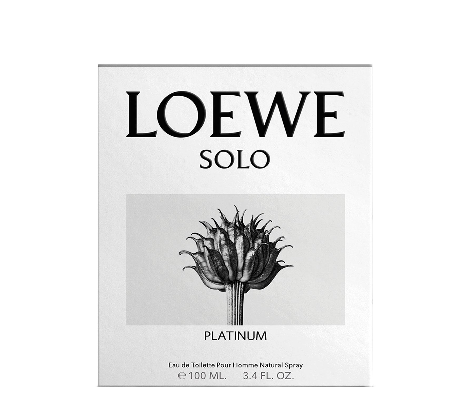 LOEWE SOLO PLATINUM EAU DE TOILETTE