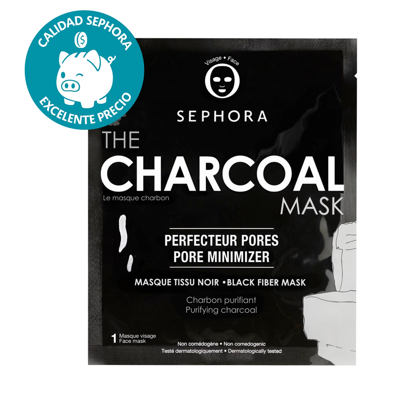 THE CHARCOAL MASK