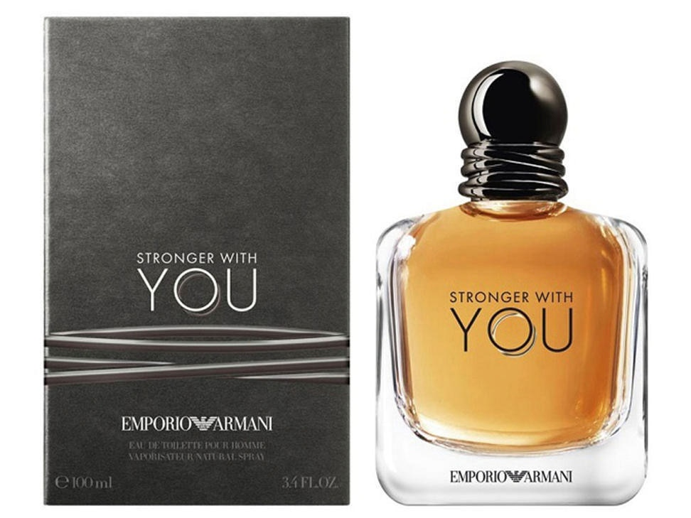 STRONGER WITH YOU EAU DE PARFUM 100 ML