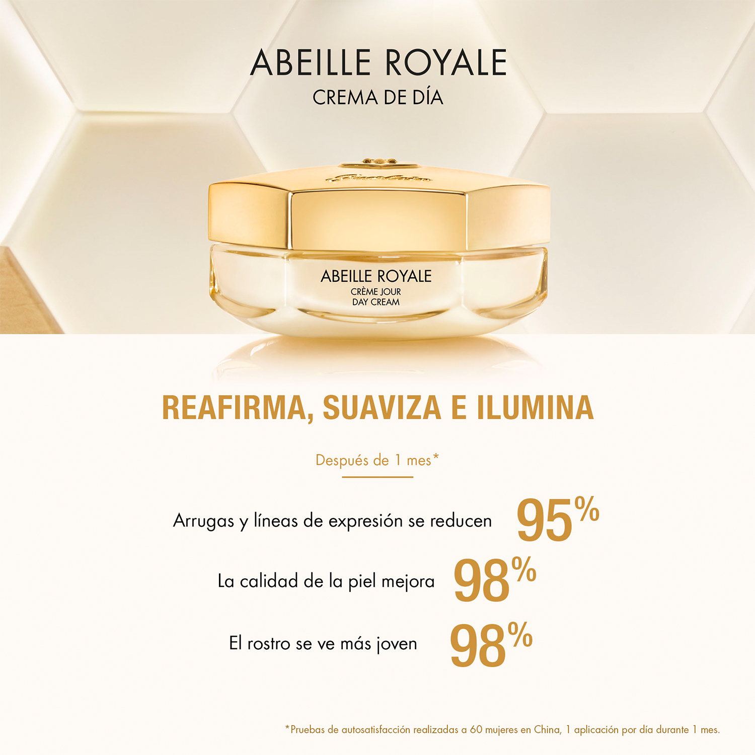 CREMA DE DÍA ANTIEDAD ABEILLE ROYALE 50ML