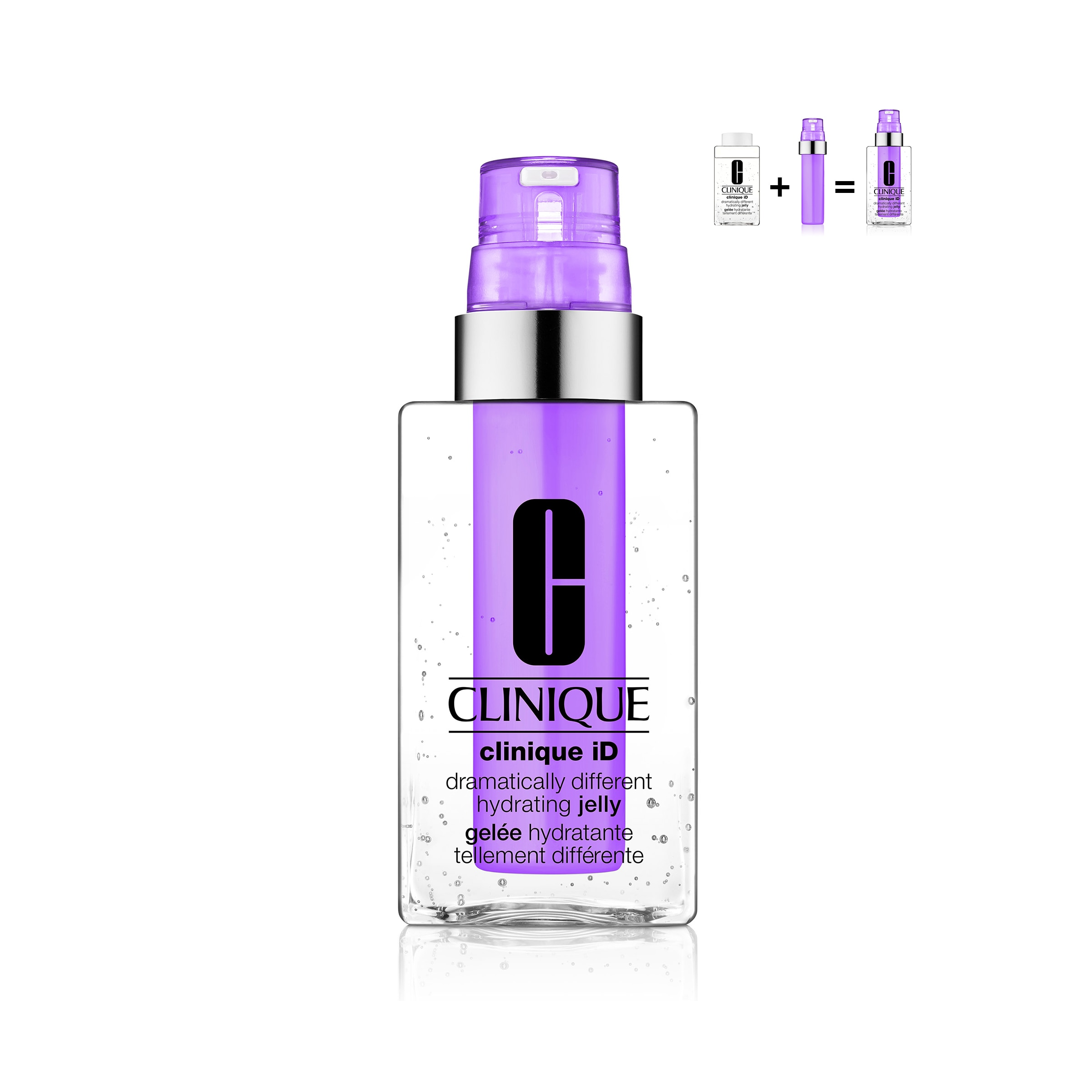 CLINIQUE ID™: DRAMATICALLY DIFFERENT™ HYDRATING JELLY + ACTIVE CARTRIDGE CONCENTRATE FOR LINES & WRINKLES 125ML