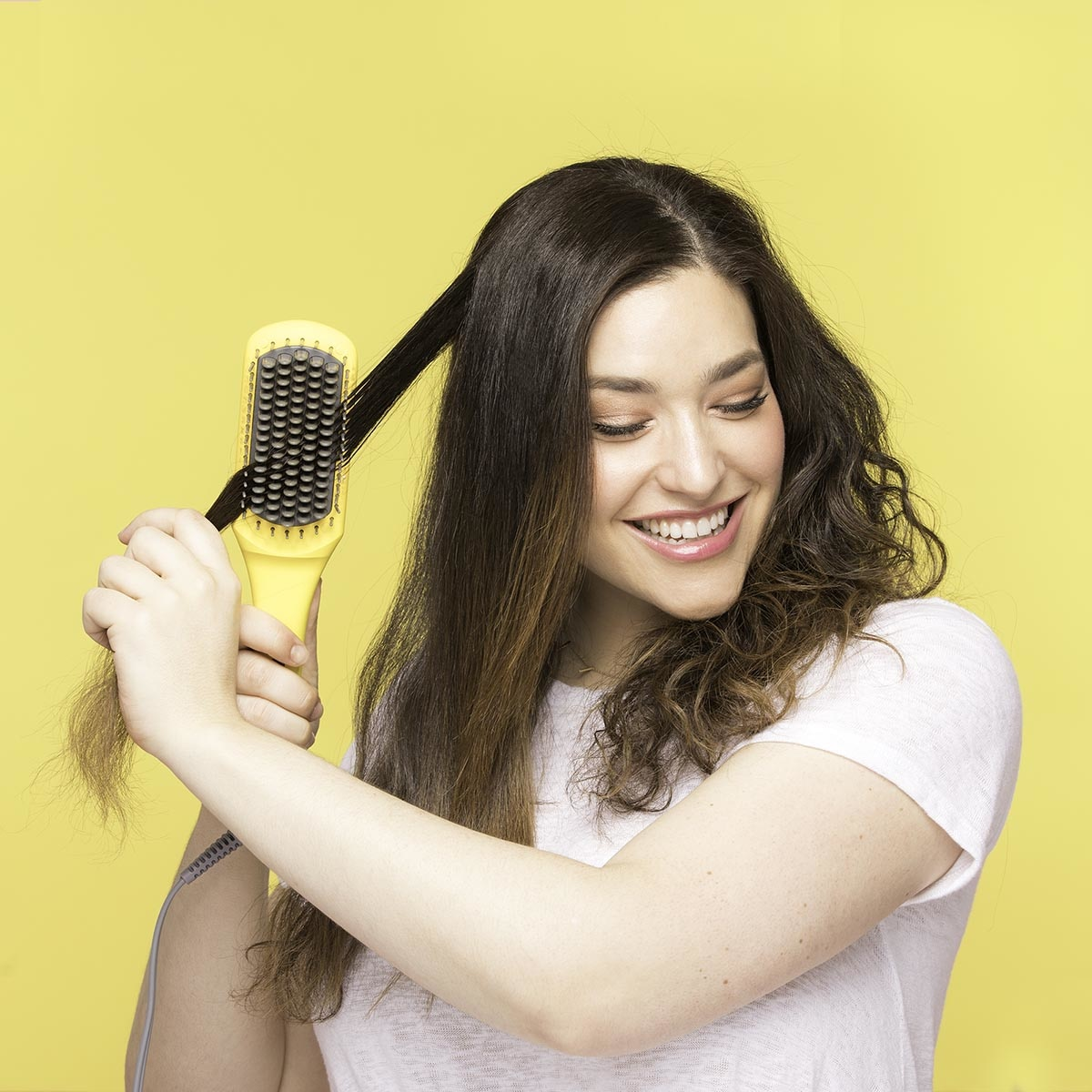 BRUSH CRUSH HEATED STRAIGHTENING BRUSH