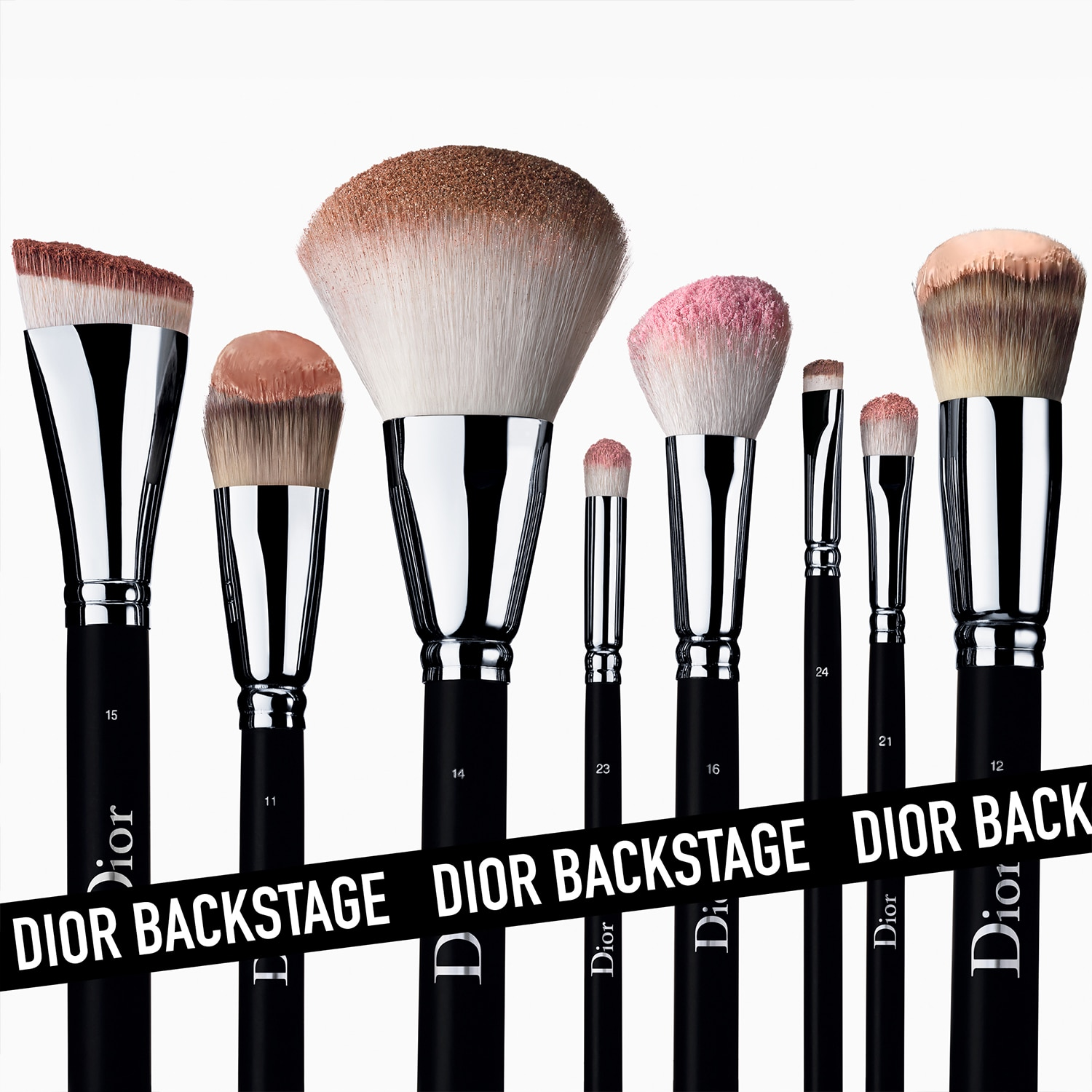 DIOR BACKSTAGE LIGHT COVERAGE FDT  BRUSH NO. 11