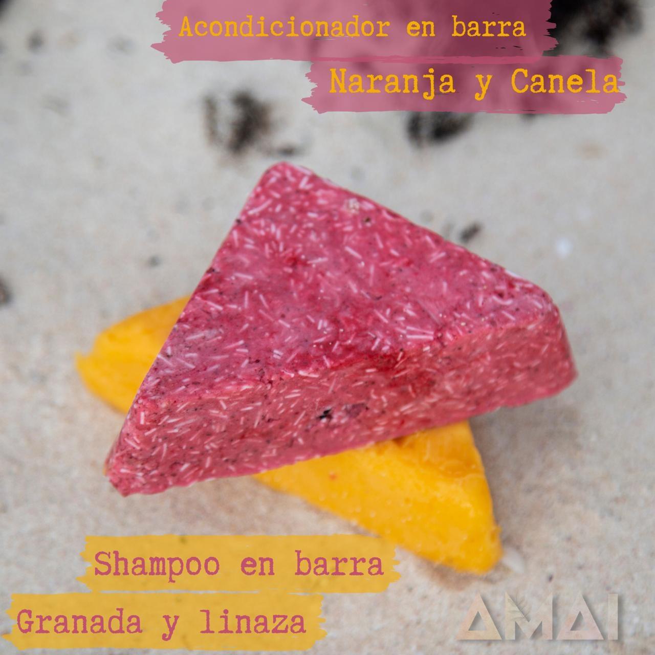 AMAI NATURAL, ACONDICIONADOR EN BARRA DE NARANJA Y CANELA