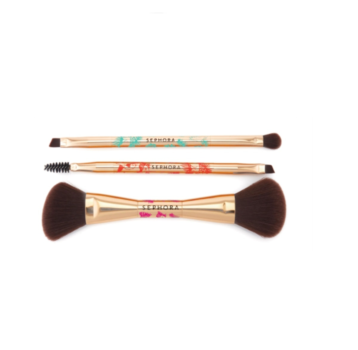 3 DOUBLE ENDED BRUSH SET-20 XMS
