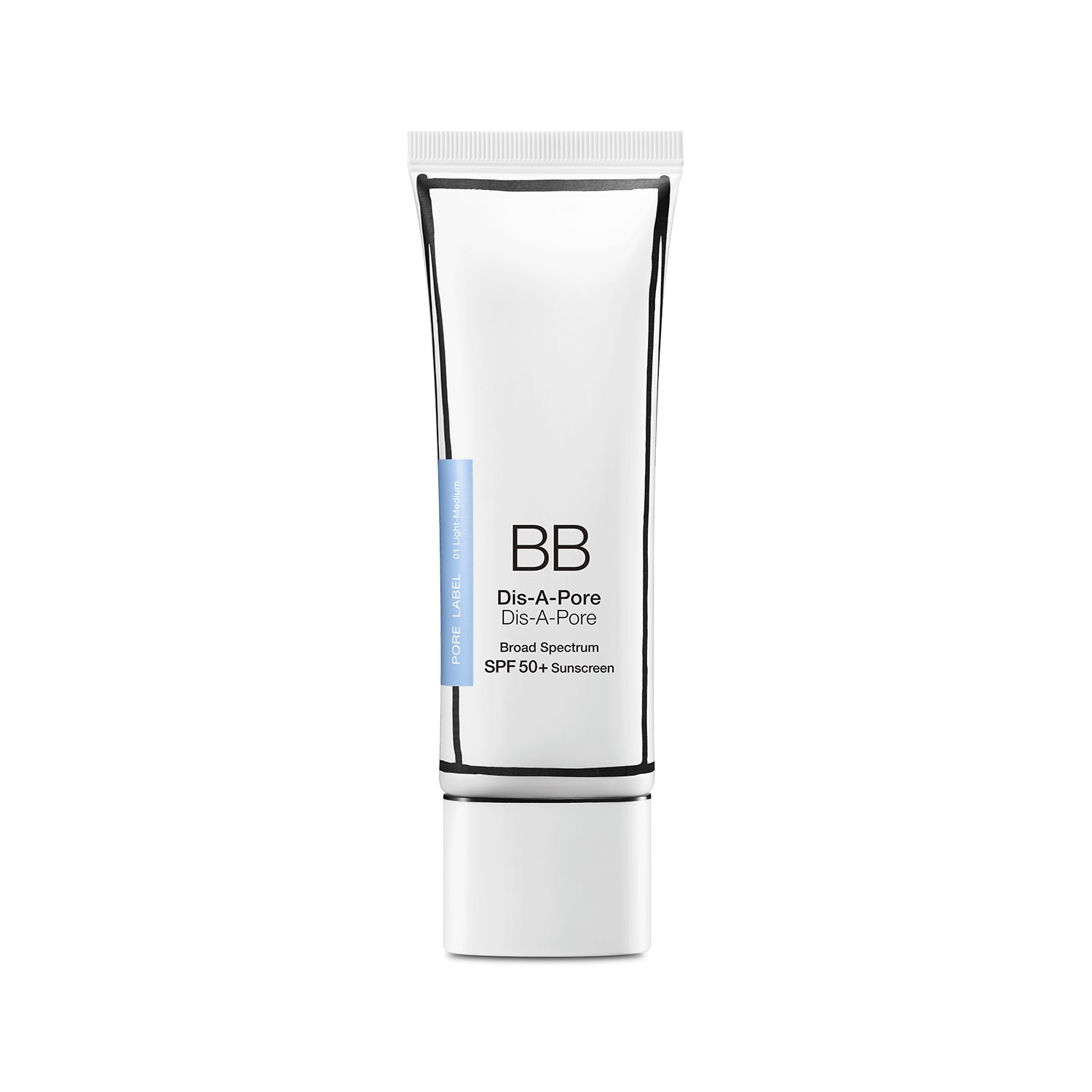 BB DIS-A-PORE BROAD SPECTRUM SPF 50+ SUNSCREEN 50 ML