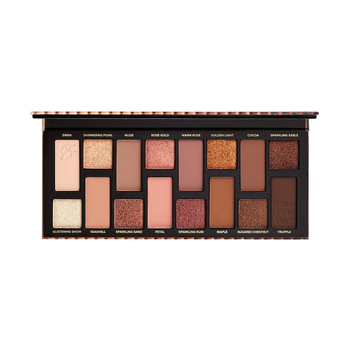 Paleta De Somras Born This Way The Natural Nudes Eye Shadow Palette Too Faced