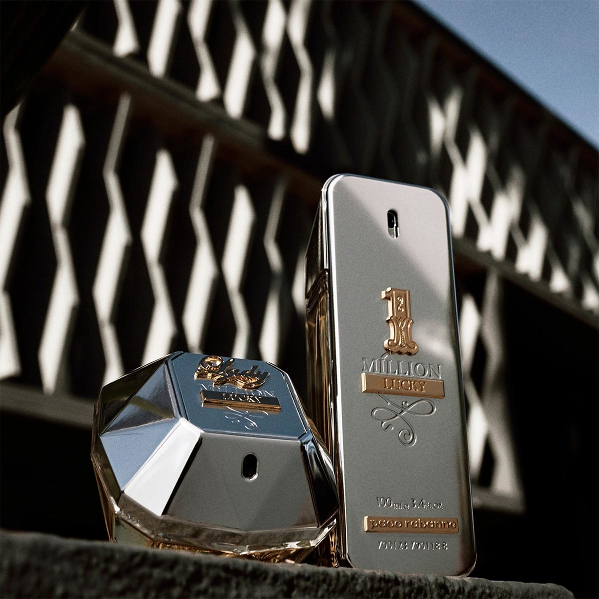 FRAGANCIA PARA CABALLERO, PACO RABANNE, ONE MILLION LUCKY, EAU DE TOILETTE