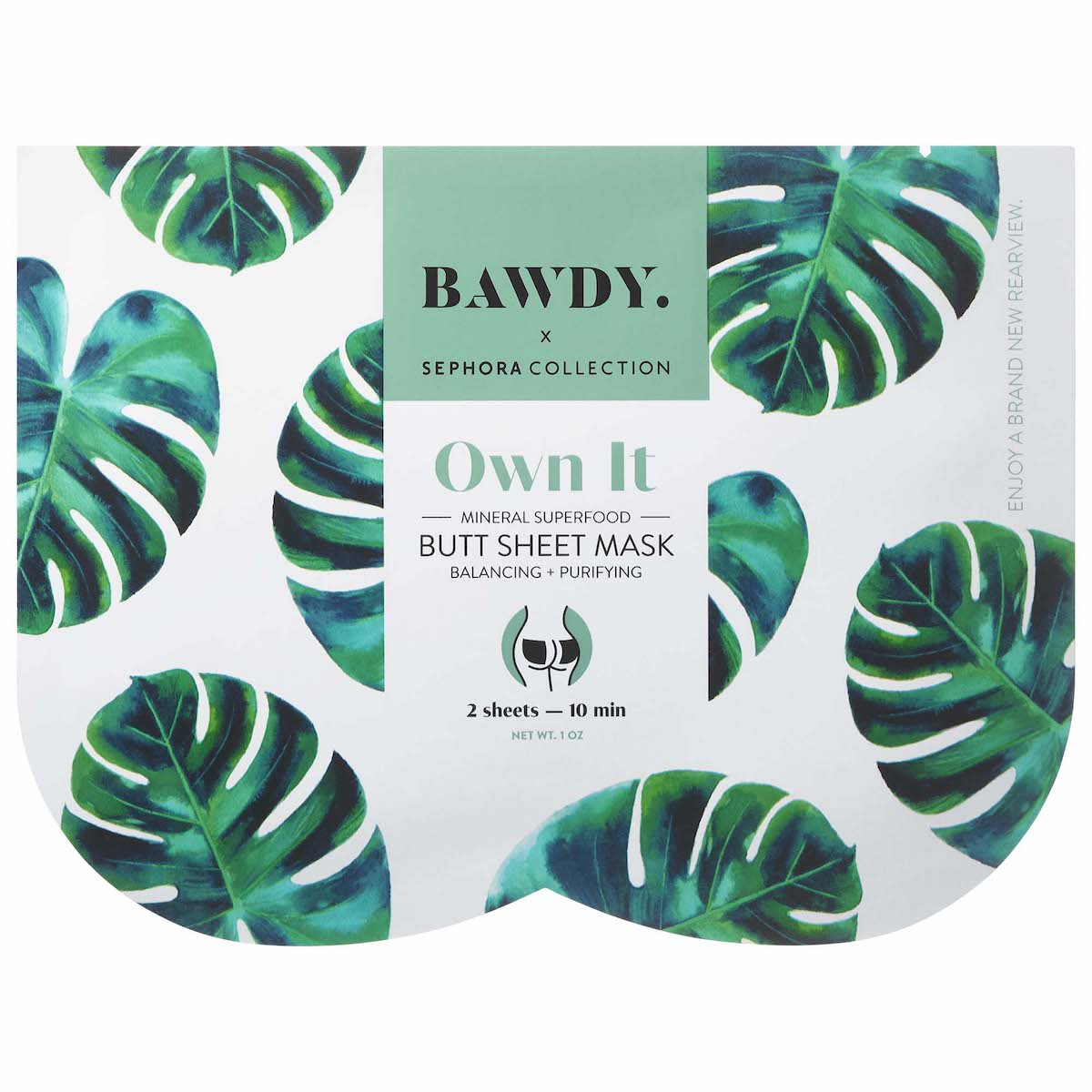 Bawdy x Sephora Collection Butt Sheet Mask (Mascarilla para Trasero)