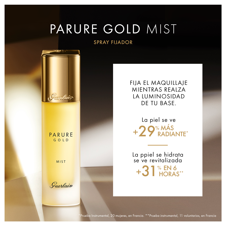 PARURE GOLD MIST - SPRAY FIJADOR DE MAQUILLAJE