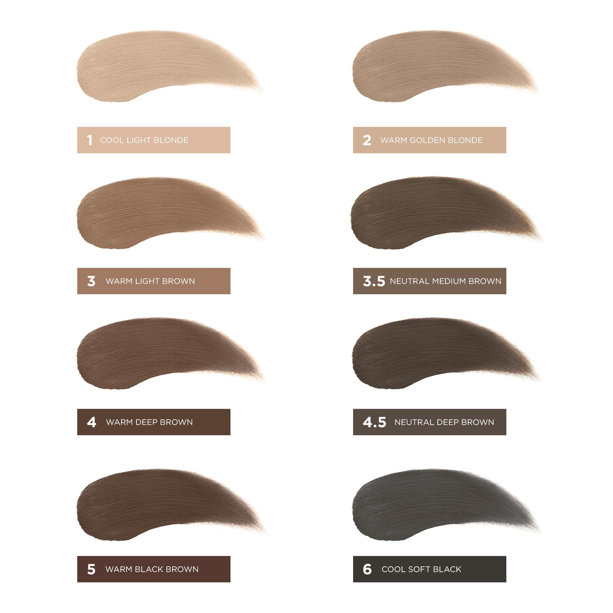 KA-BROW! CREAM-GEL EYEBROW COLOR
