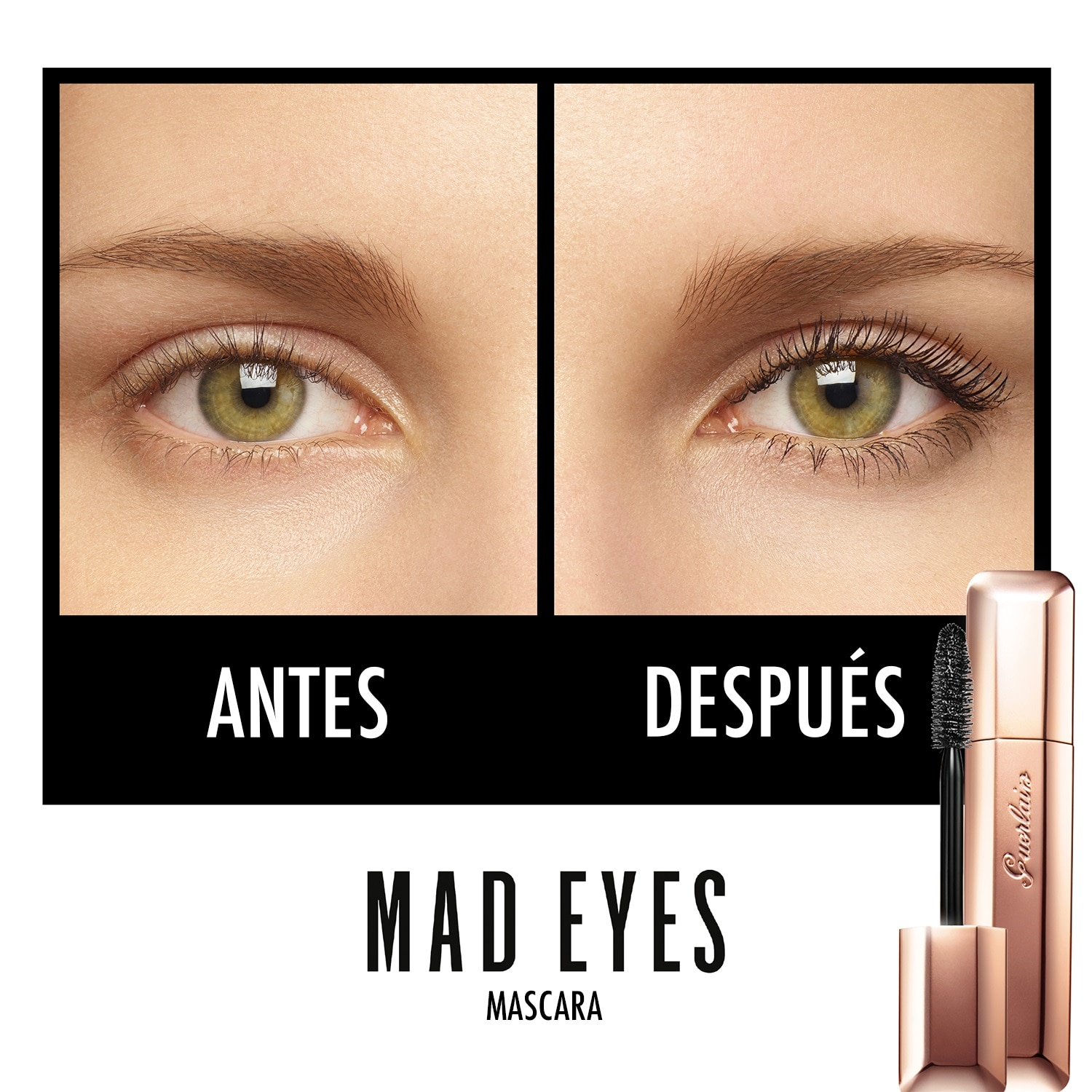 MASCARA DE PESTAÑAS VOLUMEN CONSTRUIBLE MAD EYES
