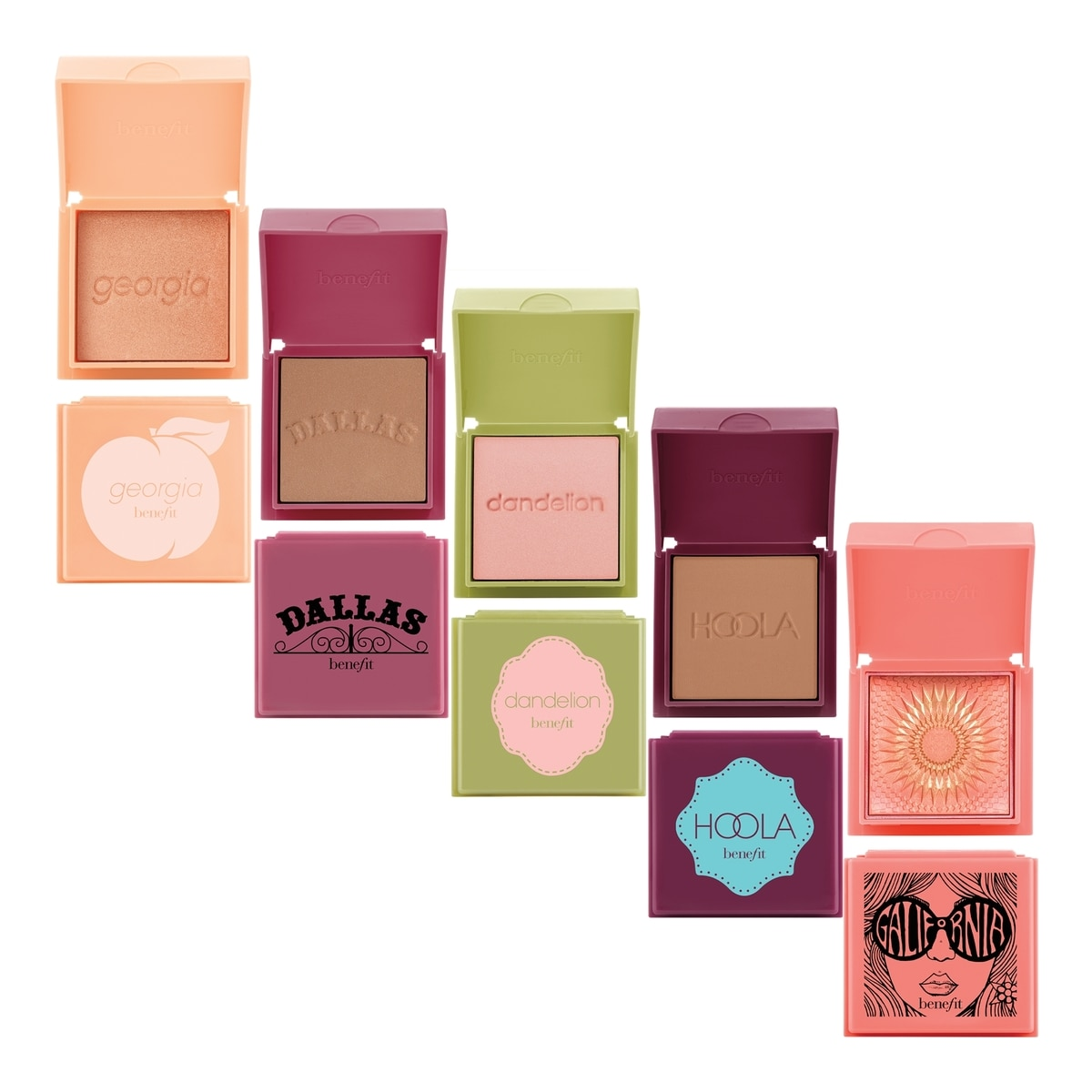 CHEEK PARTY (CONJUNTO DE RUBORES/BRONZERS)
