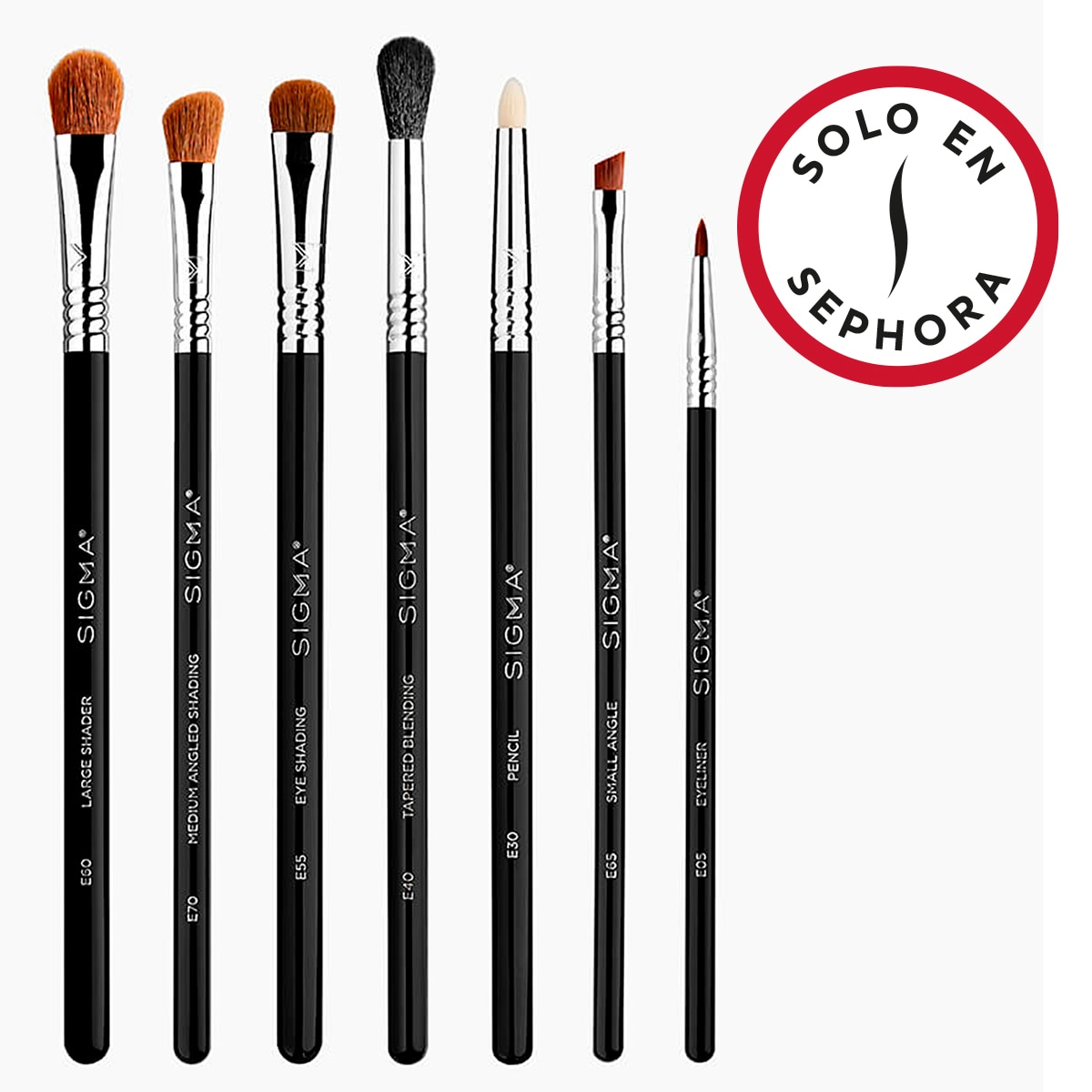 BASIC EYE BRUSH SET (SET DE BROCHAS PARA OJOS)